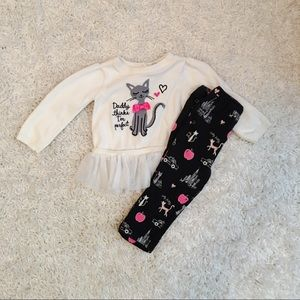The Children's Place Sweater And Pants 12-18 Month